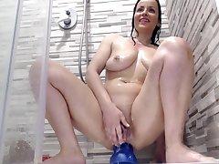 Slutty Puffy Slit Cougar Slut Masturbating On Webcam