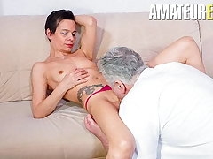 AmateurEuro - Lonely German Become man Calls Neighbor For Some Diversion