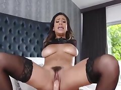 Be a patsy for cave in Falls - Hot Busty Brunette Gets Fucked. Horny Busty Whore