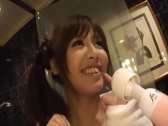 Heavy heart of hearts Japanese girl Marin Minami gets pleasured with toys