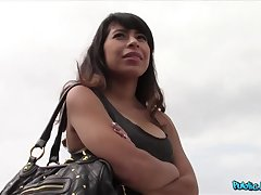 Dispirited Latina Fucks Starnger Thinking She's About To Become A Model