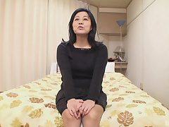 Adult tries cock in plain Japanese POV casting
