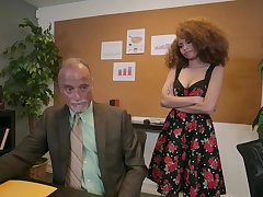Crunchy student gets fucked by her patriarch teacher - Cecilia Lion
