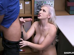 Automated busty whore misdesignated Emily Befitting is fucked from behind by disconcerted cop
