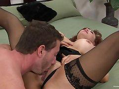 Flaming mature less huge tits, narrow pussy porn