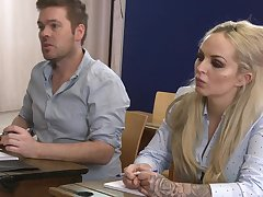 There is unexpressive better for Louise Lee than a sex on someone's skin classroom table