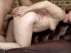 Old Redhead Slut Gets Fucked From Behind