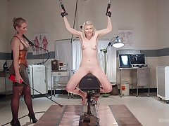 Petite comme ci unshaped dominated hard by her mistress - powerful femdom