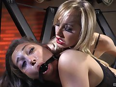 Exclusive anal and vaginal toy porn for two dirty sluts