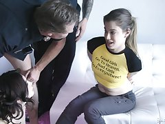 Bad cops fuck bad girls with an increment of Jane Wilde knows how to make steamy mating steamier